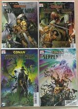 CONAN SERPENT WAR 1 2 3 4 COMPLETE SERIES 1ST PRINT NM MARVEL COMICS