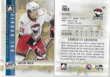 Justin Faulk 2011-12 In the Game ITG Heroes & Prospects RC Lot of 11