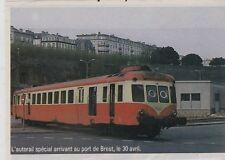 1984  --  L AUTORAIL SPECIAL AU PORT DE BREST    3F910