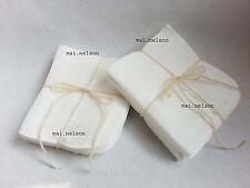 10x organic 100% Cotton Buffing FACE CLOTHS Facial Cleanser Deep Skin Exfoliator