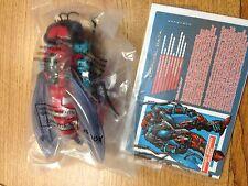 Transformers Botcon 2015 Waruder Waruders Red Blue Storm Rider and Crusher