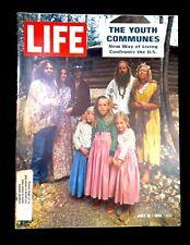 Vintage 1969 Hippie Youth Commune  Living Life Magazine Clean & Rare
