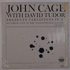 JOHN CAGE w/ DAVID TUDOR: Variations IV Everest 6132 NM lp ELECTRONIC