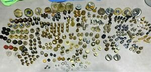 Huge Lot, 300+, Vintage Radio/ TV, Knobs/ dials, mixed Lot 3lbs +