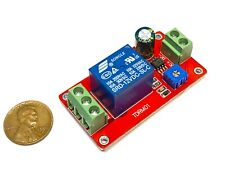 DC 12V Delay Adjustable Timer Relay Switch Module 0 to 20 Second  c4