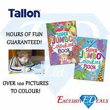 A4 Super Jumbo Kids Colouring Book - Travel - Fun Activity Book Party Bag