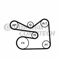 CONTINENTAL CTAM Keilrippenriemensatz 6PK1733K3 für AUDI VW A1 GOLF A3 POLO SEAT