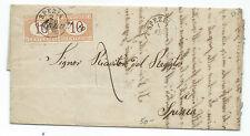 FRANCOBOLLI 1873 REGNO SEGNATASSE COPPIA 10 CENTESIMI SPEZIA 2/2 A/8185
