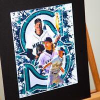 Seattle Mariners - Randy Johnson #51 - The Big Unit - Original Artwork