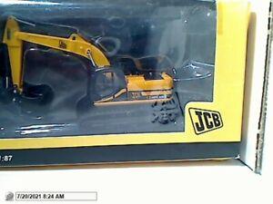 "MOTORART #6516 DIECAST ""JCB JS220 TRACK EXCAVATOR"" 1:87 MIB HO SCALE"