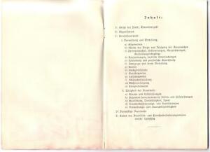 Original Jahresbericht der Feuerschutzpolizei Chemnitz 1938/1939