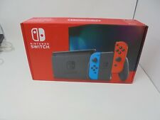 Official Nintendo Switch EMPTY BOX Only Packaging - Red and Blue - BNM30
