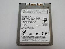 "Toshiba 80GB 5400RPM 1.8"" Micro SATA Hard Drive MK8017GSG HP 493447-001 *Tested*"