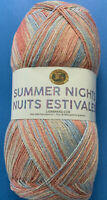 Lion Brand Summer Nights Bonus Bundle; Island Breeze 512-308 Super Fine; 875 Yds