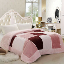 Luxury blanket Tencel velvet bed cover warm blankets New nature fiber Chinese