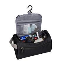 Waterproof Travel Organizer Bathroom Storage Cosmetic Hanging Toiletry Bag Black