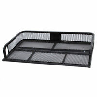 Universal ATV Rear Back Cargo Basket Steel Rack Hunting Fishing ARFR2030