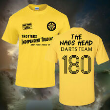 ONLY FOOLS AND HORSES NAGS HEAD DARTS T-SHIRT (ALL SIZES AVAILABLE) UK