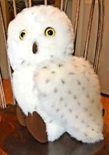 "Aurora Snowy Spotted White Owl Hegwig Harry Potter Plush Toy Stuffed Animal 12""!"