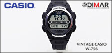 Vintage Casio W-756-4AVES, QW.3100.WR.100M.WORLD Time. Year 2008