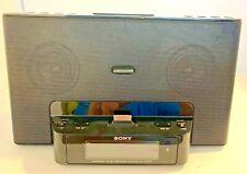 Sony Dream Machine ICF-CS15IP Ipod Iphone Speaker Dock Clock Radio