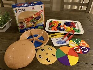 Learning Resources Super Sorting Pie Game Learning Fun Educational