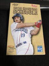 2020 Lehigh Valley Iron Pigs Baseball Pocket Schedule Phillies Affiliate