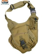 Kombat Coyote Tactical Shoulder Bag 7 Litre Airsoft Military Army Paintball