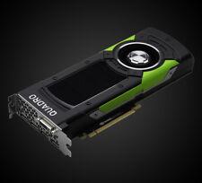 Nvidia Quadro p5000, 16 Go GDDR 5x, DVI, 4x DisplayPort (HP, PNY vcqp 5000-pb)