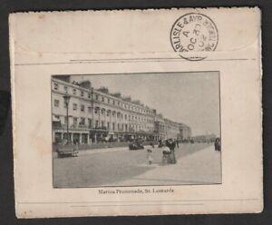 1902 EDVII Carlisle & Ayr Sorting Tender OC 30 02 on Letter Card to Ayr