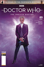 Doctor Who Road to 13th Dr. #3 12th Cover B Photo Variant Comic Book 2018 Titan
