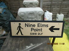 collectable sign
