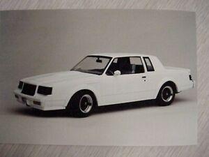 GMP #8101 White 1987 GNX X-Ray Prototype Diecast Automobile