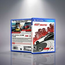 Need for Speed Most Wanted - Replacement PlayStation Vita Cover and Case.NO GAME