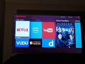 "Sharp Aquos LC-55N 55"" Ultra HD 4k smart LED TV"