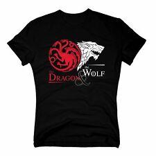 Game of Thrones - The Dragon & the Wolf - GoT Herren T-Shirt - Targaryen Stark
