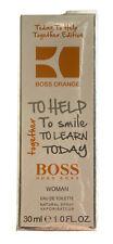 Hugo Boss Orange Eau de Toilette 30ml Charity Edition Women  Spray