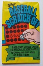 1981 Topps Baseball Scratch-Off 36 Year Old Card Pack +Bonus & 5% To Diveheart