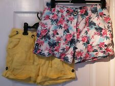 2 X Ladies Shorts From George, Size 12, Used.