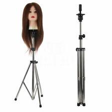 Adjustable Wig Head Stand Mannequin Tripod Hairdressing Training Holder 0.6Kg Us