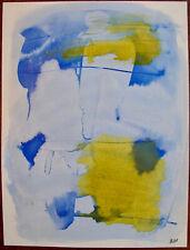 """ILIU JOSEPH (1914-1999). COMPOSITION , AQUARELLE. """"ABSTRACTION LYRIQUE""""....(27)"""