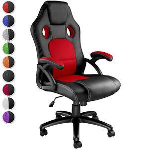Chefsessel Bürostuhl Racing Gaming Stuhl Sportsitz Drehstuhl Schreibtischstuhl