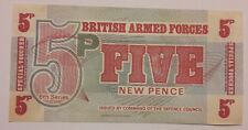 5 Five new pence British armed forces