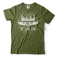Forest Camping Camp T-shirt  Lumberjack Tee Shirt Funny Tee Gift for Papa Nana