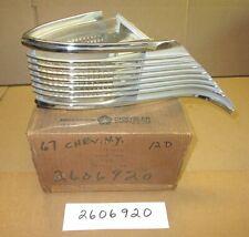 Mopar 2606920 right front cornering lamp 1967 Chrysler New Yorker, NOS, OEM