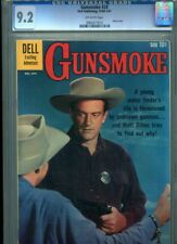 GUNSMOKE #24 CGC HI GRADE 9.2 CLASSIC PHOTO COVER DELL GEM