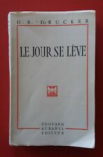 1958 / Avignon, Edouard Aubanel / D.B. DRUCKER : Le Jour se lève.