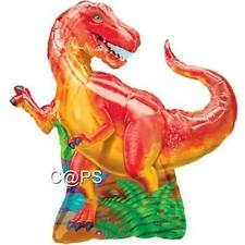 1 x Large Dinosaur...Foil Balloon...Helium or Air...T Rex...Dino