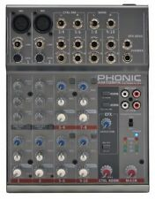 Phonic Analog Powered Pro Audio Mixers