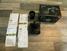 Sony Alpha A7 II 24.3 MP Digital Camera with 28-70mm & 50mm Lenses Battery Grip